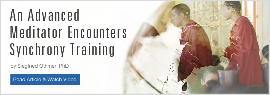 An Advanced Meditator Encounters Synchrony Training by Siegfried Othmer